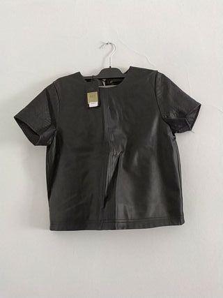 camisa de piel