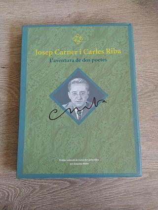 Libro doble ilustrado Josep Carner i Carles Riba