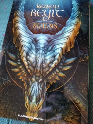 Libro ilustraciones Kerem Beyit: Realms. Tapa dura