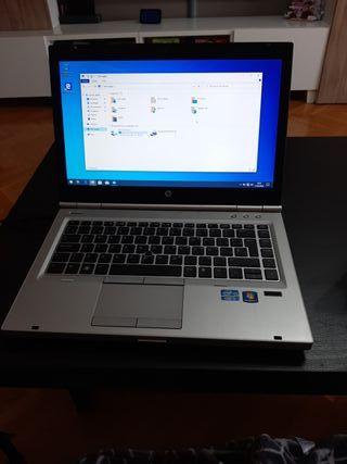 Portátil HP 8470p (batería en mal estado)