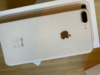 Iphone 8 plus rosa 256gb