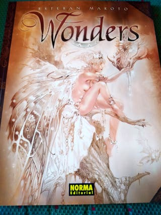 Libro de ilustraciones Wonders, de Esteban Maroto