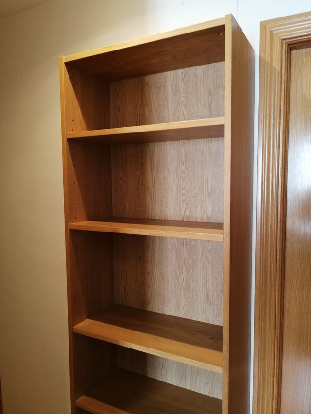 Librería Billy de Ikea 80 x 28 x 202 cm roble