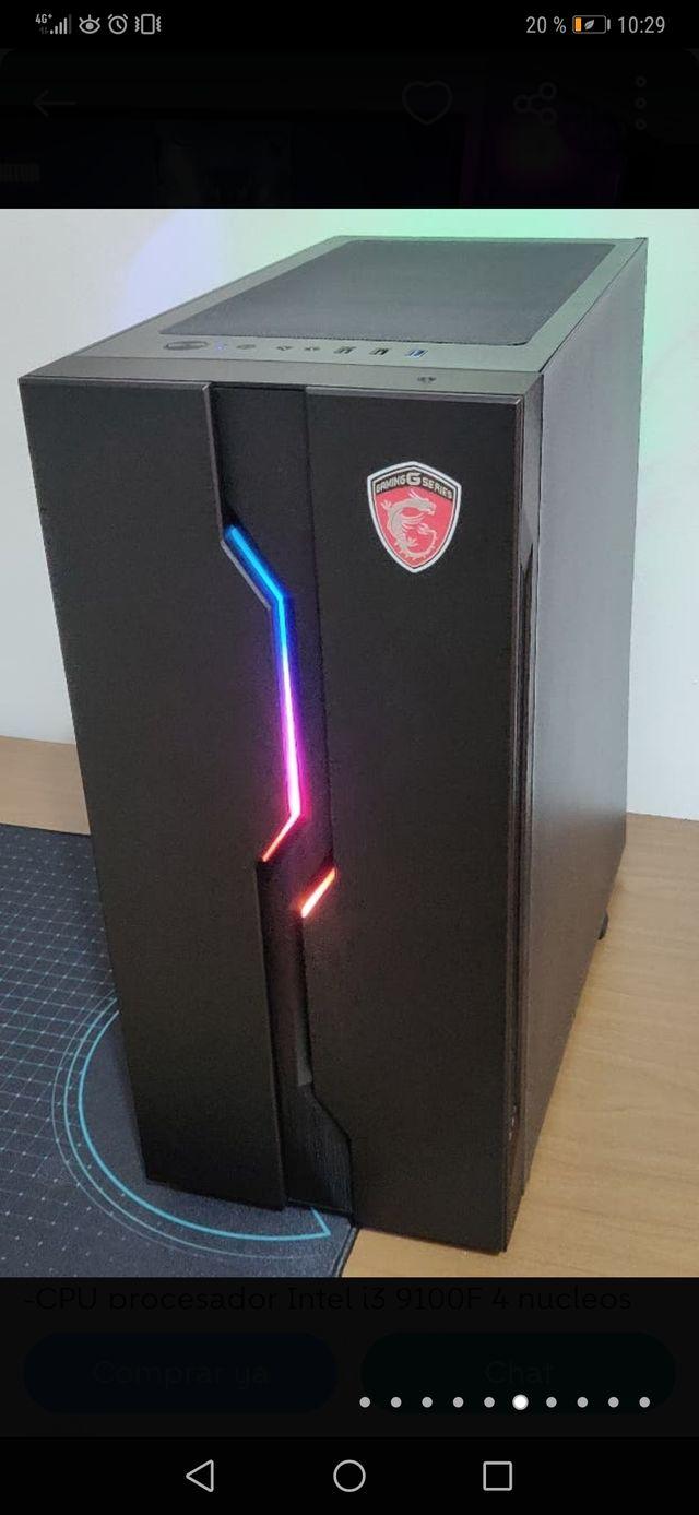 PC GAMING MSI ALTO RENDIMIENTO+MONITOR 29''