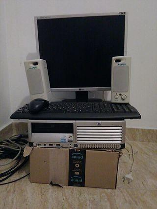 ordenador completo de sobremesa