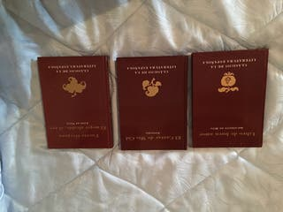 Pack de tres Libros de Literatura Clásica por 8€