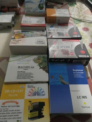 cartuchos tinta para varios impresoras