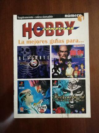 GUÍA CON SOLUCIONES HOBBY CONSOLAS Nº1