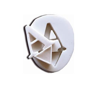 Molde silicona letra