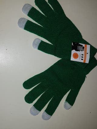 guantes touch screen gloves