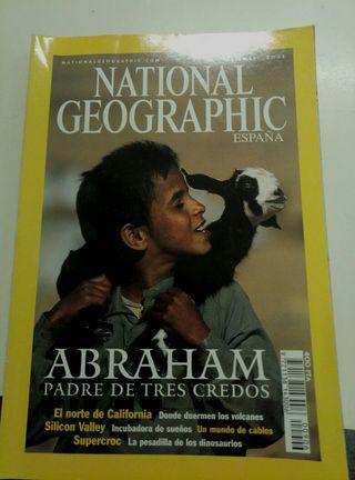 5 revistas national geographic