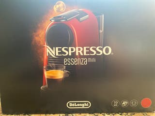 Cafetera Nespresso essenza mini DeLonghi