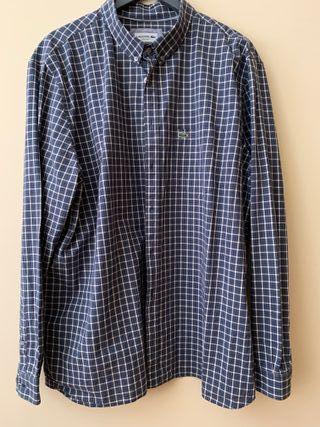 Camisa Lacoste Talla Grande 2XG - Usada