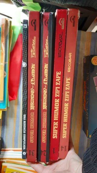 pack cómics Zipi zape y mortadelo y filemon