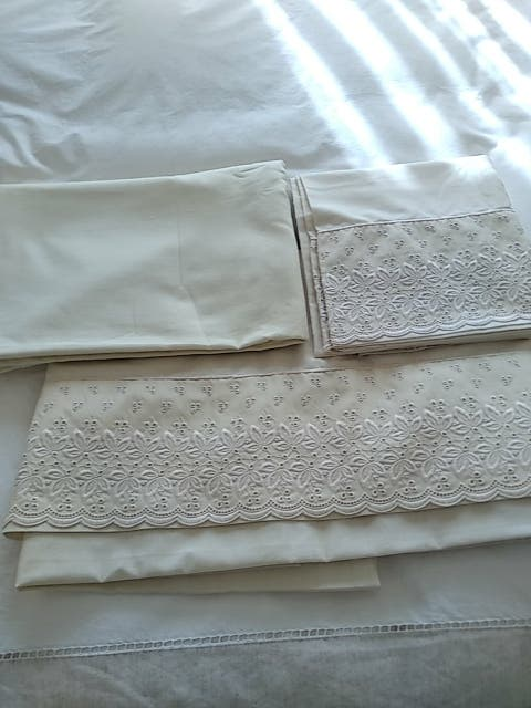 juego de sábanas,tres piezas