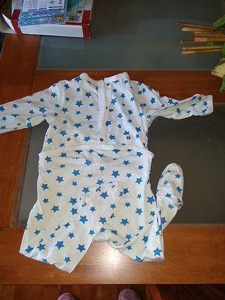 ropa bebe pijama algodon primavera