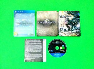 Monster Hunter: World con Steelbook / PS4