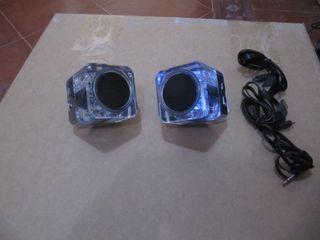 Altavoces estéreo Bluetooth