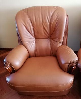 vendo sofás de cuero