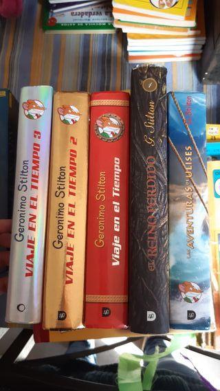 Pack libros de Geronimo Stilton