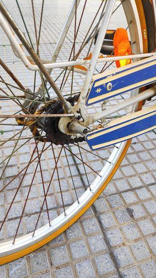 bicicleta alemana antigua Victoria