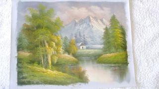 Óleo sobre lienzo para enmarcar. Pintura al óleo 6