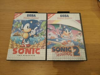 Lote Sonic Master System