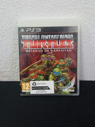 Juego Teenage Mutant Ninja Trutles PS3