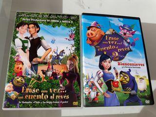 """DVD Disney """"Erase una vez...un cuento al revés"""""""