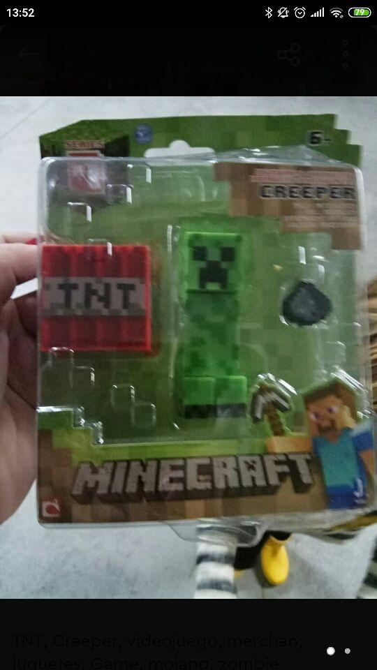 Muñecos nuevos de Minecraft