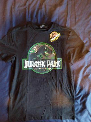 Camiseta 25 aniversario Jurassic Park Parque Juras