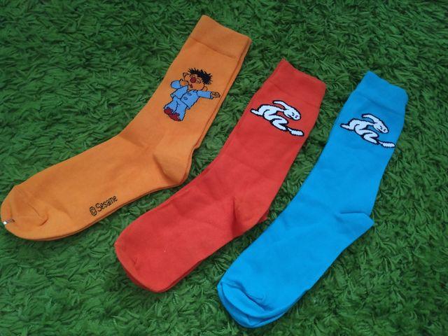 pack 3pares calcetines largos