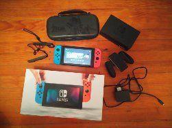 Nintendo Switch full accessoires+pochettecollector