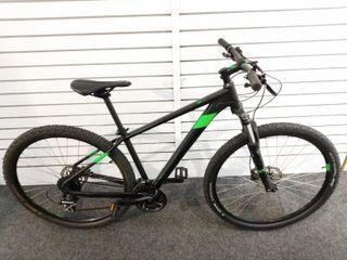 Bicicleta Cube Aim Race Black/Flash Green 29 97636