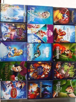Colección DVD de 17 películas clásicas Disney