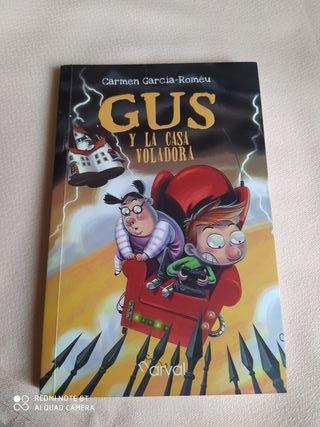 libro Gus y la casa voladora