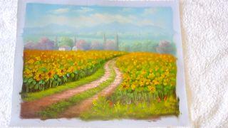 Óleo sobre lienzo para enmarcar. Pintura al óleo 8