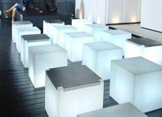 Muebles con luz iluminados sin cable