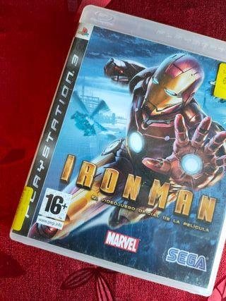 Iron man para PS3 :v