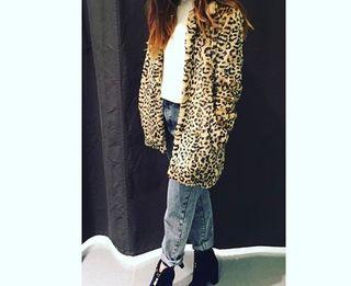 Abrigo leopardo