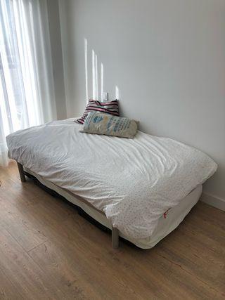 Somier + colchón pikolin