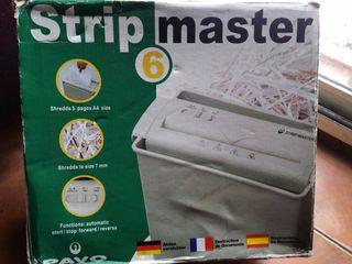 stripmaster trituradora de papel