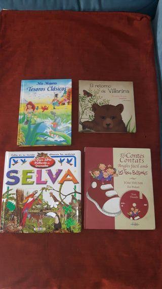 Lote libros cuentos para niñ@s