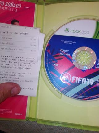 vendo FIFA 19 para Xbox 360 prácticamente nuevo