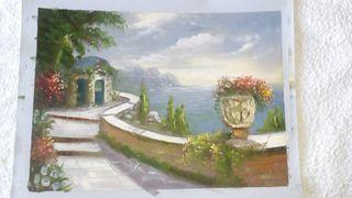 Óleo sobre lienzo para enmarcar. Pintura al óleo 7
