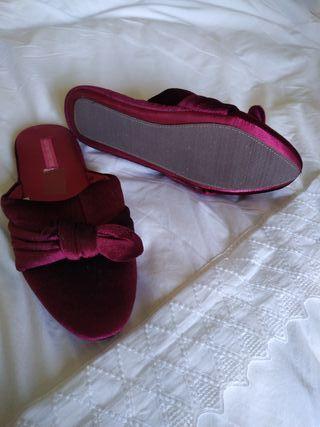 Zapatillas sin estrenar