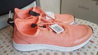 Zapatillas deportivas n°37 color salmón