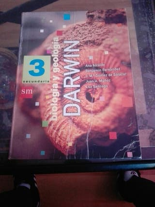 libro biología y geología Darwin SM