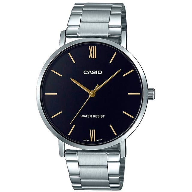 Ref. 02862   Reloj Casio Mtp-Vt01D-1B Cro. Analogi