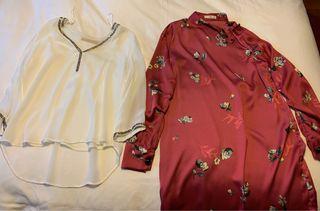 Ropa mujer,vestidos, faldas,camisas,tallaS, M y 38